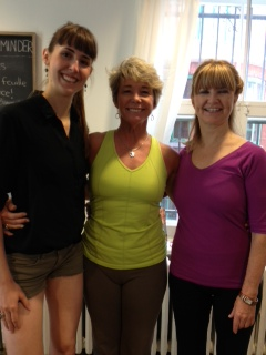 Me in the middle with Miranda (founder) and Laurence (the tall one)